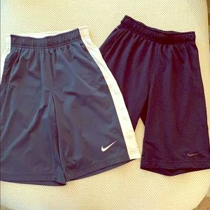 Two Pairs of Nike Athletic Shirts, Boy's sz medium